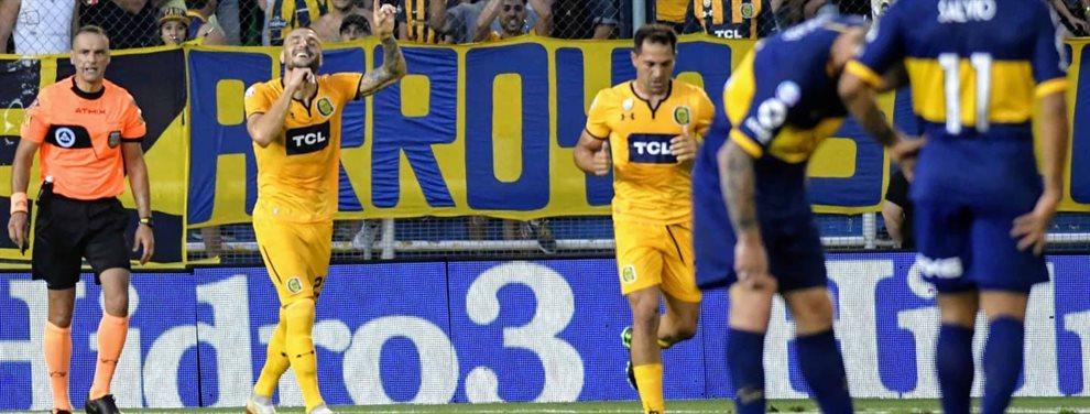 En el GIgante de Arroyito, en el marco de la fecha 16 de la Superliga, Rosario Central y Boca se enfrentaron.