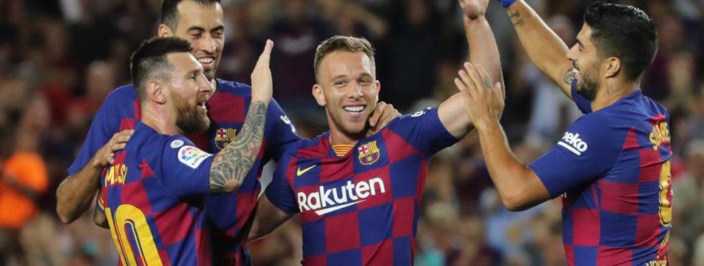 El Barça viaja a Milán para negociar a dos bandas