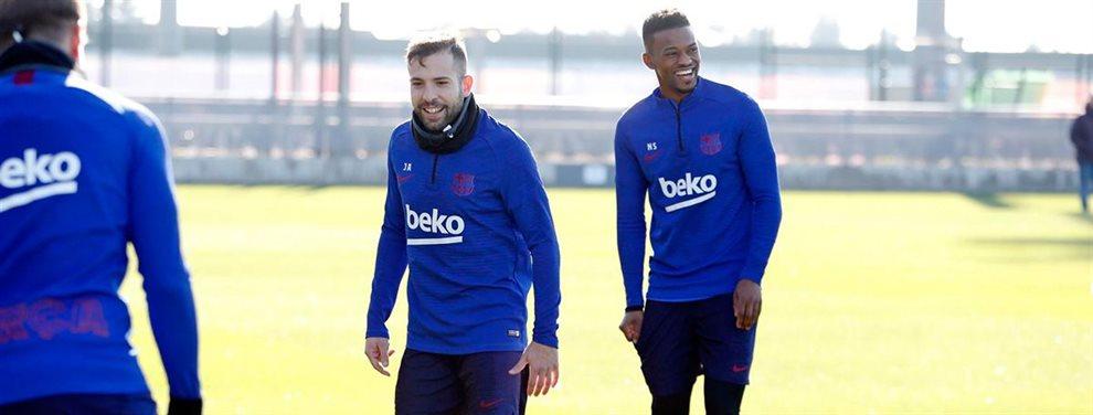 El Atlético de Madrid busca un fichaje invernal que puede ser Junior Firpo, del Barça