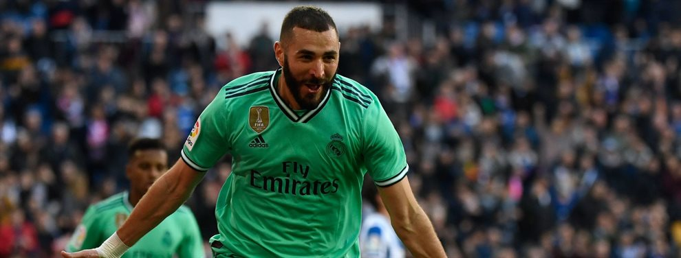 En el Real Madrid se plantean ofrecer a Karim Benzema por Marcus Rashford, más joven