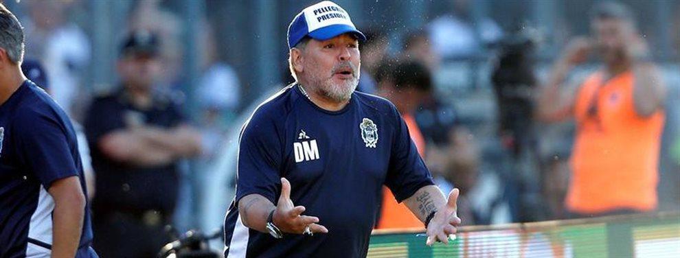Diego Armando Maradona tendría asegurado a su primer refuerzo para enero de 2020.