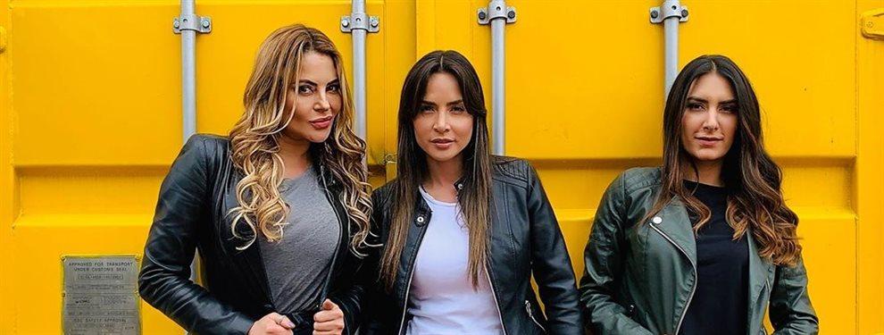 Carmen Villalobos y Gregorio Pernia comparten fotografías del adiós a la serie que les llevó a la fama, incluso una en la que el actor besa el pie de ella