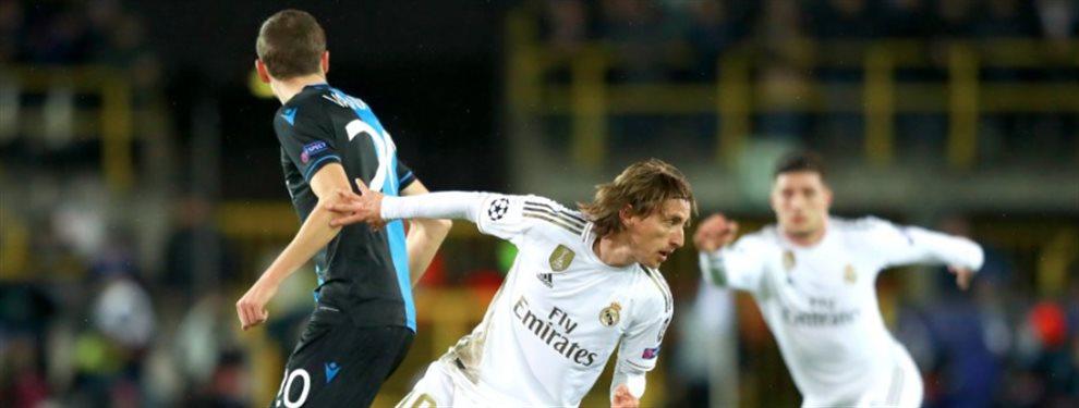 Florentino Pérez lo echa. Último partido. Bomba en el Brujas-Real Madrid