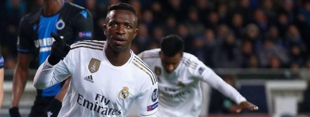 El Real Madrid encontró ayer una nueva victoria que le valió para coger más confianza. Es el momento de los brasileños en el equipo..Si Zidane quiere