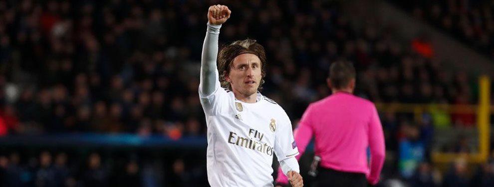 El 10 de Modric será suyo: Florentino Pérez ata el fichaje para el Madrid