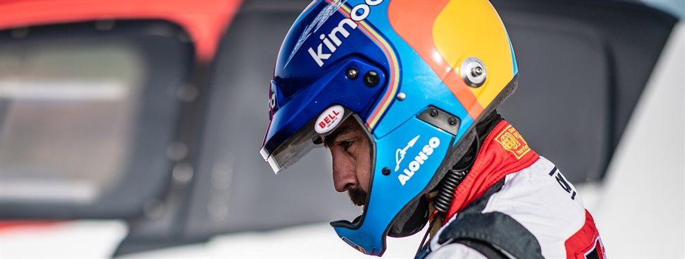 Fernando Alonso ha corrido en el Rally de Abu Dabi y ha mejorada cada día con respeto al anterior. Su participación en el Dakar cobra más sentido que nunca
