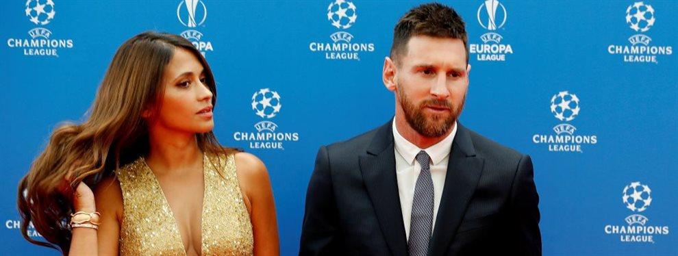 Leo Messi se fotografió junto a una modelo israelí, lo que no le habrá hecho gracia a Antonella Roccuzzo