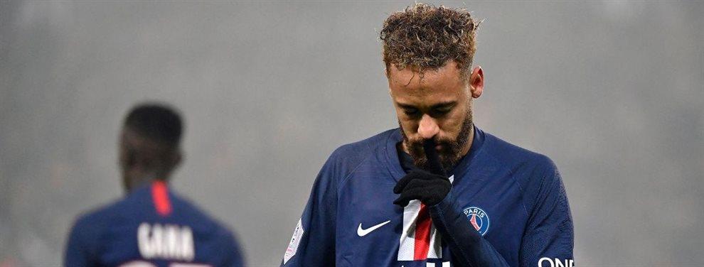 Neymar Junior ha reiterado su deseo de jugar en el Barça y retiraría su querella