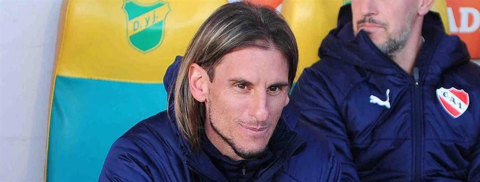 Sebastián Beccacece se encuentra a un paso de convertirse en el nuevo técnico de Racing.