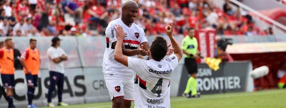 En el Libertadores de América, Newell's derrotó 3-2 a Independiente y agudizó su crisis.
