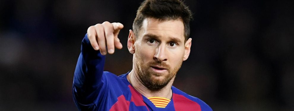 Leo Messi desde el puesto de líder indiscutible que tiene en el Barcelona, ha dado un toque de atención por su estado físico a un jugador.