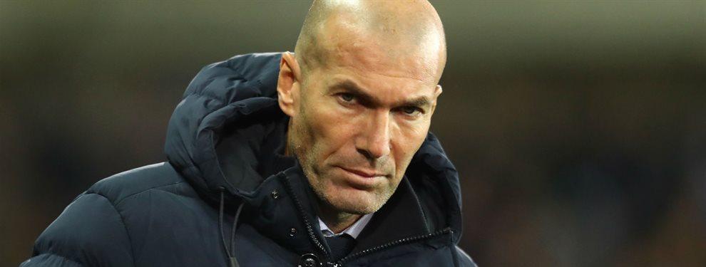 Zidane ya ha conversado con la presidencia del Real Madrid sobre los jugadores que se podrían incorporar en invierno.