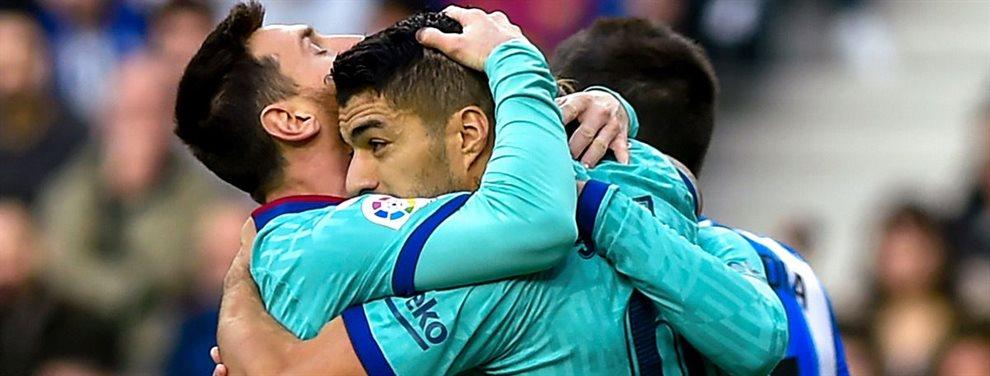 Al Barça se le escaparon dos puntos muy importantes ante la Real Sociedad en un partido en el que el crack argentino Leo Messi no estuvo muy inspirado.