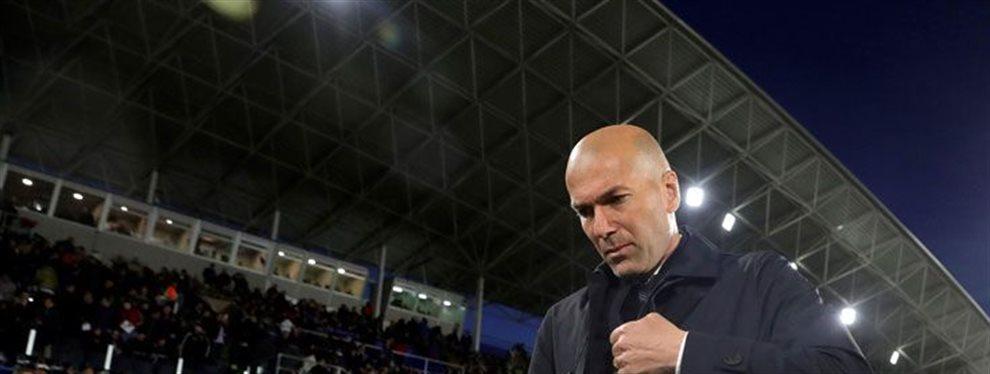 La plantilla estalla contra Zidane en la semana del Clásico
