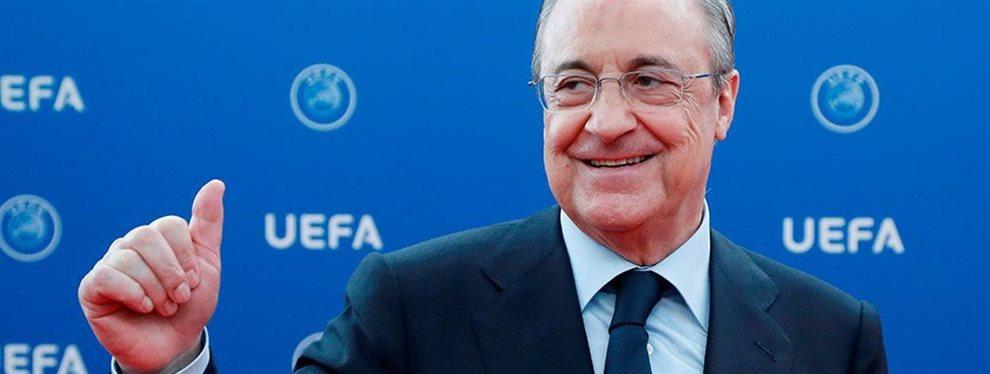 Durante esta etapa, el presidente del Real Madrid valora mucho más gastar en fichajes a futuro.