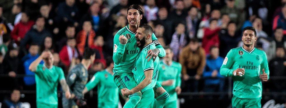 Karim Benzema salvó un punto para el Real Madrid en el último momento del partido