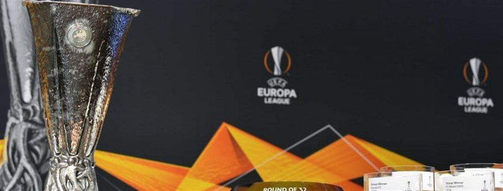 Se realizó el sorteo de los enfrentamientos de los 16avos de final de la Europa League.