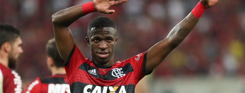 Vinicius Junior sigue siendo una de las grandes esperanzas del equipo brasileño. La selección carioca cree que será el mejor jugador del mundo en unos años