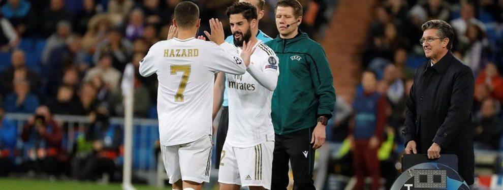 Vinicius Junior está apartado por Zinedine Zidane y no jugará el Clásico ante el Barça