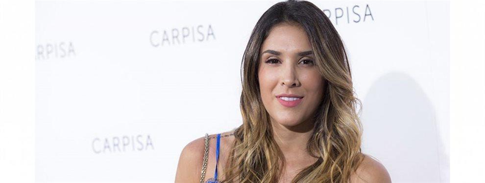 Daniela Ospina se tomó una imagen para publicitar su línea de ropa y aparecía con una sorpresa
