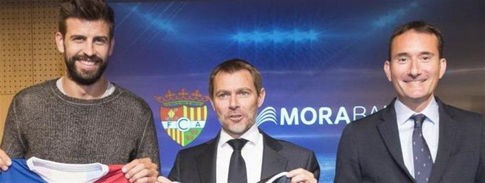 Gerard Piqué decidió comprar el FC Andorra el año pasado con la idea de alcanzar la segunda división en dos años. Va camino de ello. Pero ayer...
