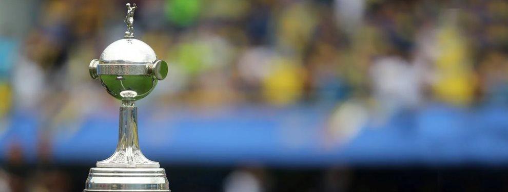 En Asunción, se realizó el sorteo de la fase de grupos de la Copa Libertadores 2020.