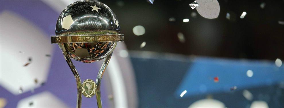 Además del sorteo de la Copa Libertadores, se definieron los cruces de la Copa Sudamericana 2020.