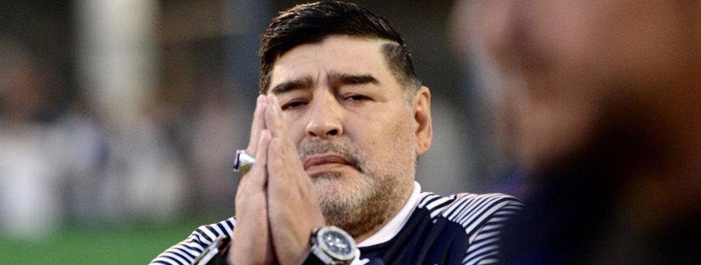Diego Armando Maradona pretende incorporar en Gimnasia de La Plata a un arquero de experiencia.