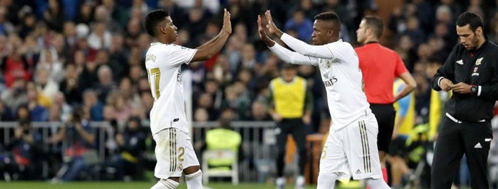Zinedine Zidane dio una advertencia a Rodrygo Goes y Vinicius Junior dejándolos en el banquillo