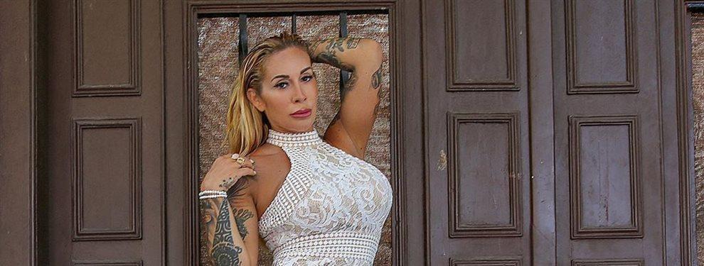 La colombiana Victoria Lomba ha superado en tamaño la retaguardia de Anastasiya Kvitko según unas fotografías en la que se ve a la deportista de espaldas
