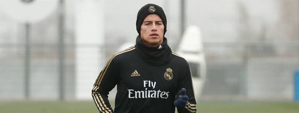 James Rodríguez tiene hasta tres ofertas de la Serie A: del Inter de Milán, la Roma y el Napoli
