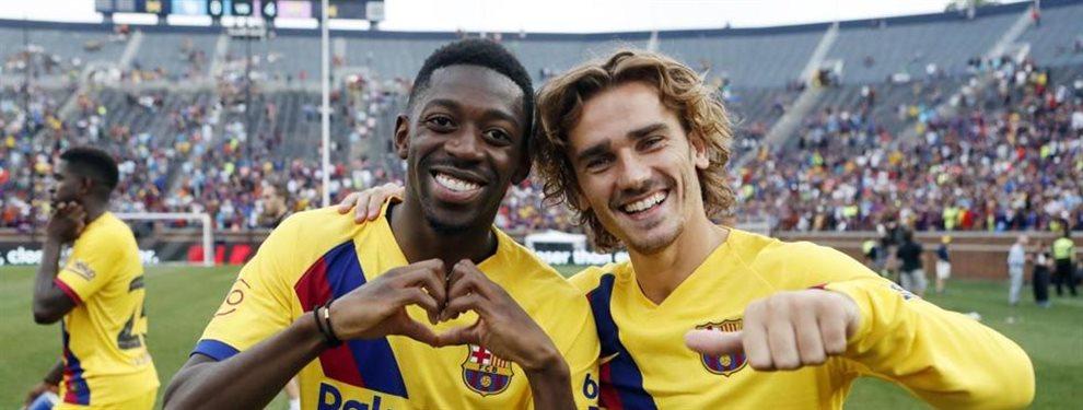 El Arsenal ya ha puesto su objetivo en el jugador francés y el Barça está abierto a escuchar ofertas por el atacante. Aubameyang entraría en la operación