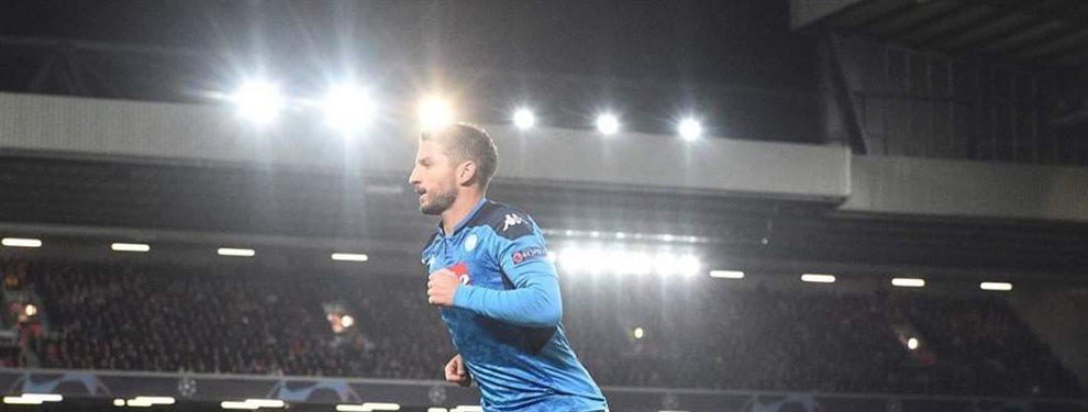 El Borussia Dortmund quiere pescar al delantero del Nápoles con una suculenta suma mientras Florentino y el Madrid miran los movimientos cercanos a Fabián