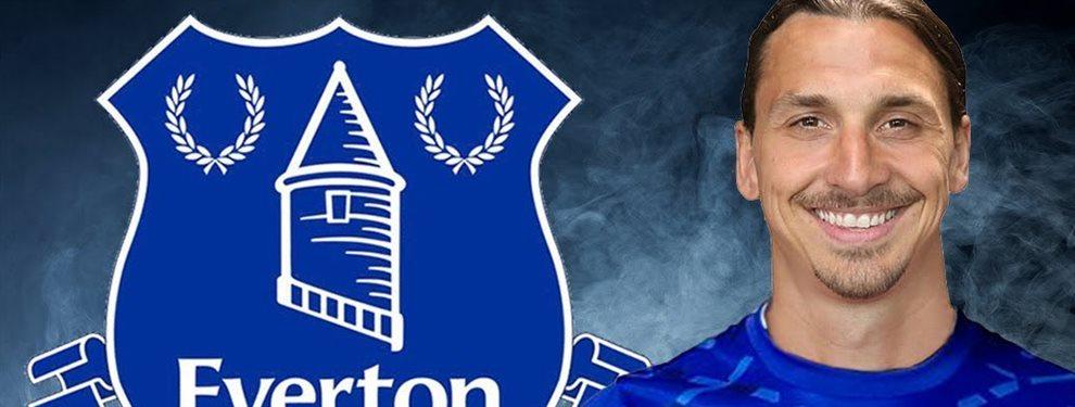 Zlatan Ibrahimovic podría jugar en uno de estos equipos históricos, Everton o Milán, para aventurarse por última vez en el fútbol de más alto nivel