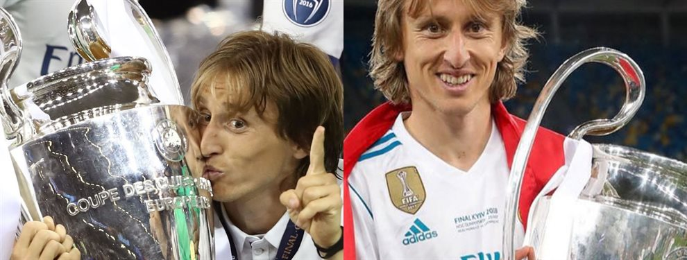 El jugador croata del Real Madrid, Luka Modric, busca una salida en este mercado ya que varios jugadores le quitan minutos que otras temporadas tenía