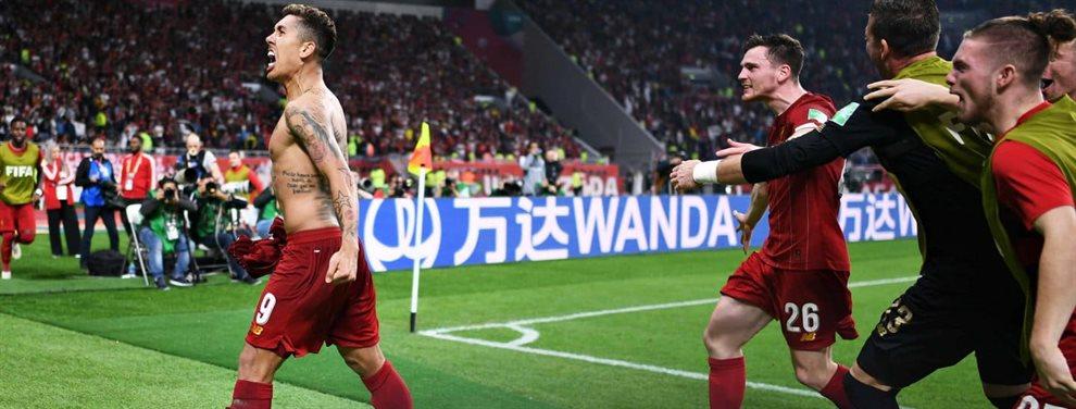 En Doha, Liverpool derrotó 1-0 a Flamengo y se proclamó campeón del Mundial de Clubes.