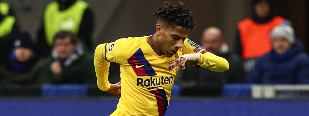 Todibo ya sabe lo que opina el Fútbol Club Barcelona y busca equipo como loco porque las negociaciones serán duras y largas. Milán o Manchester United...
