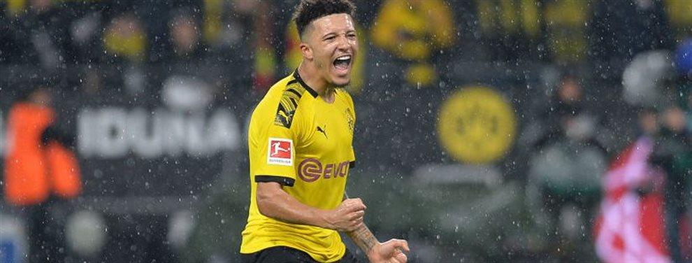 El extremo londinense quiere aprovechar el buen rendimiento que está dando en el Borussia Dortmund para fichar por un club que aspire a todos los títulos