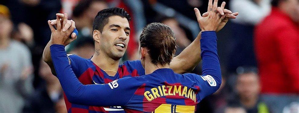 El tema sobre la mesa de la dirigencia y los pesos pesados se centra en el jugador que sustituirá a Luis Suárez.