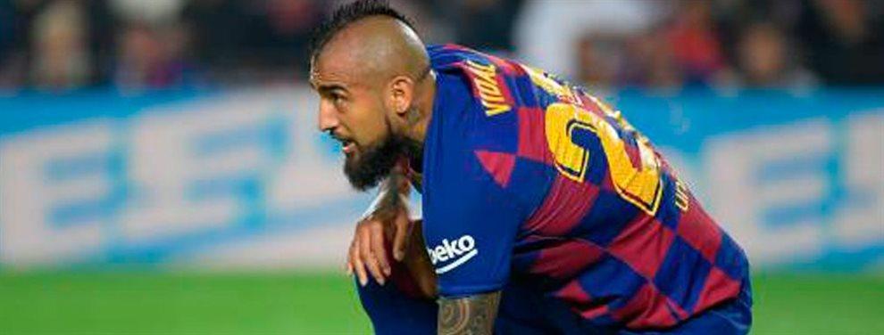 Arturo Vidal se encuentra ante una de las decisiones mas complejas de su carrera deportiva: está hecho un lío y necesita decidirse ya. Barcelona o .......