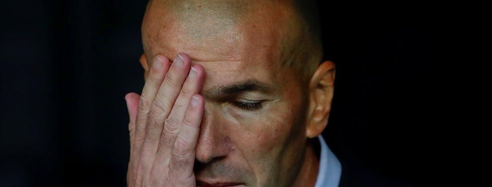 El Real Madrid no tiene gol. Es un hecho y cada vez está más claro que hay un problema con esto. Todos menos Zidane parecen preocupados. ¿Qué dice él?