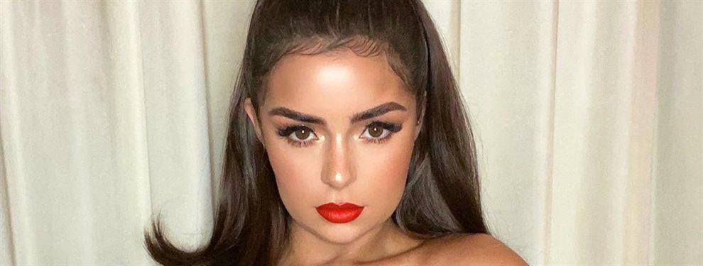 Demi Rose vuelve loco Instagram con una de sus fotos más vistosas y atrevidas ¡Deja el agujerito al aire y guarda un secreto que enloquece a los fans!