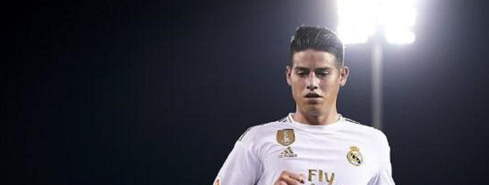 James se irá del Madrid ¡a este equipo!