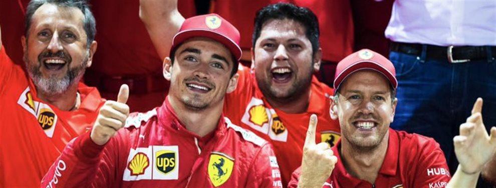 Ferrari quiere volver a ser grande y ha dado el primer paso para ello. Leclerc es confirmado como primer piloto de la escudería, ¿qué va a hacer Vettel?