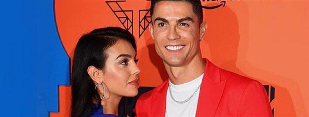 La mujer de origen argentino, Georgina Rodríguez, protagoniza junto a su novio Cristiano Ronaldo una de las estampas familiares más entrañables por Navidad