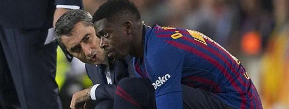 Dembélé está a un paso de cerrar su salida del Barça ya que sus continuas lesiones han colmado la paciencia del entrenador y presidente del club blaugrana