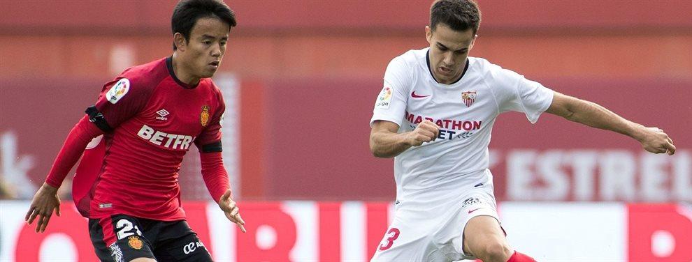 Sergio Reguilón podría regresar al Madrid de su cesión en este mercado tras la abundancia de minutos que está teniendo Mendy por las lesiones de Marcelo
