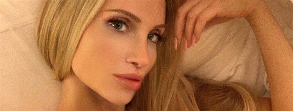 La impresionante modelo Amanda Lee se viene arriba en la intimidad de su casa y frente al espejo y se hace un selfie en el que se ve más de los esperado
