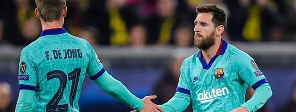 El centrocampista holandés Frenkie de Jong no está jugando a la altura de las expectativas que despertaron su fichaje y el Barça podría venderlo en verano