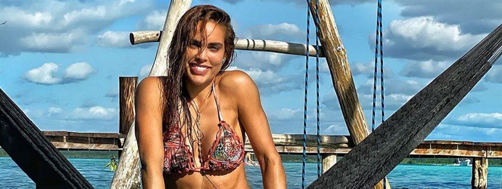 Sara Corrales quema las redes con esta foto que le sacaron a traición en plena faena y sin avisar ¡Suda y se le ven ! ¡Todo eso es suyo y es brutal!
